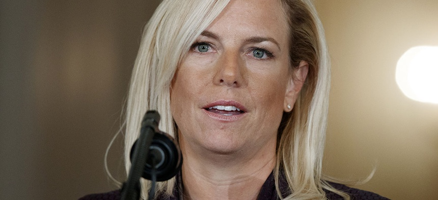 Kirstjen Nielsen, President Donald Trump's nominee to be Secretary of Homeland Security.