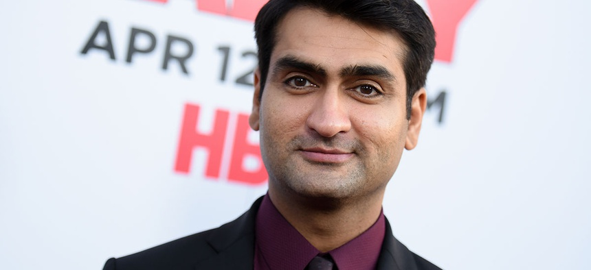 "Kumail Nanjiani arrives at the LA Premiere For Season 2 Of ""The Silicon Valley"""