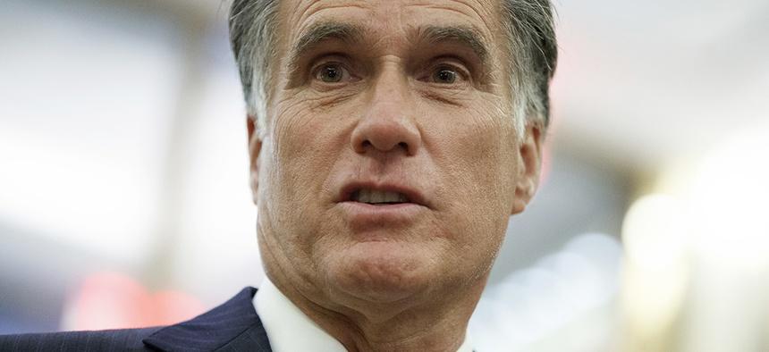 Former Republican presidential nominee Mitt Romney