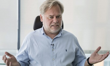Eugene Kaspersky, Russian antivirus programs developer and chief executive of Russia's Kaspersky Lab.