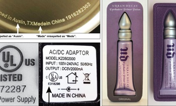 Examples of some counterfeit items purchased online and featured in a GAO report.