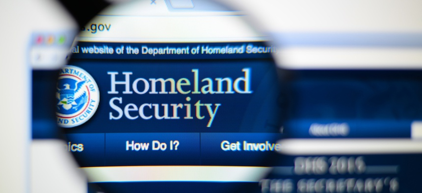 Department of homeland security headquarters consolidating debt
