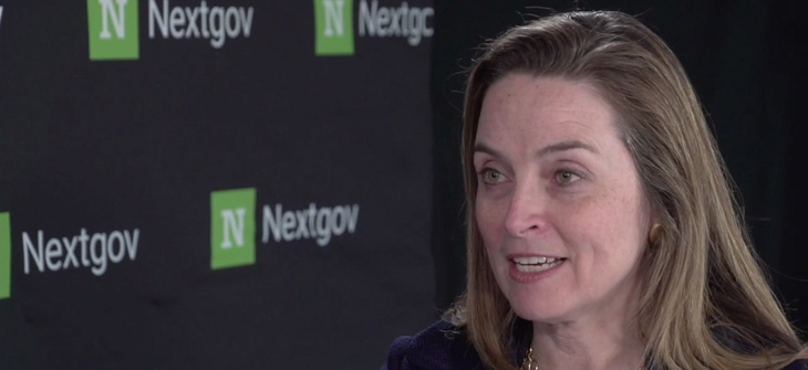 The Office of Management and Budget's Margaret Weichert in a one-on-one interview with Nextgov.