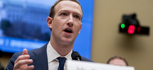 Facebook CEO Mark Zuckerberg testifies before a House Energy and Commerce hearing on Capitol Hill.
