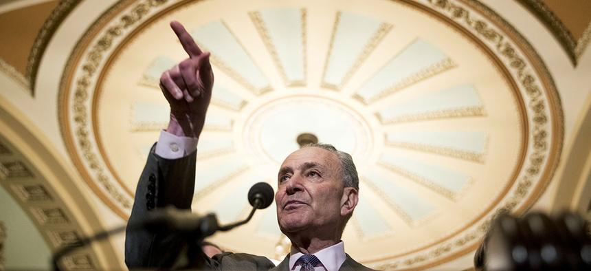 Senate Minority Leader Sen. Chuck Schumer