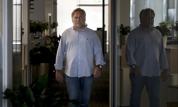 Eugene Kaspersky, Russian antivirus programs developer and chief executive of Russia's Kaspersky Lab, walks at his company's headquarters in Moscow, Russia, Saturday, July 1, 2017.
