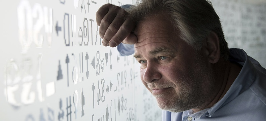Eugene Kaspersky, Russian antivirus programs developer and chief executive of Russia's Kaspersky Lab