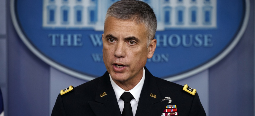 National Security Agency Director Gen. Paul Nakasone.