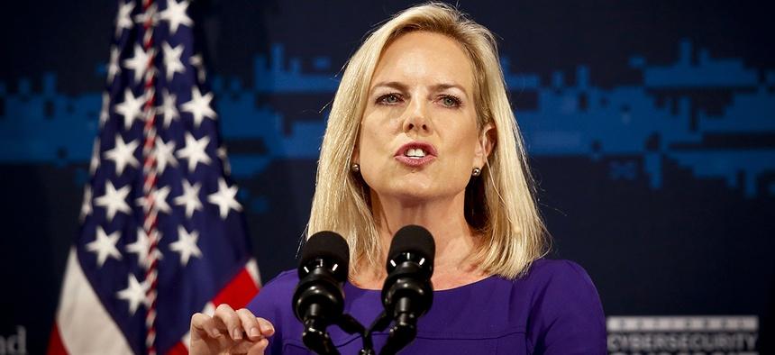 DHS Secretary Kirstjen Nielsen