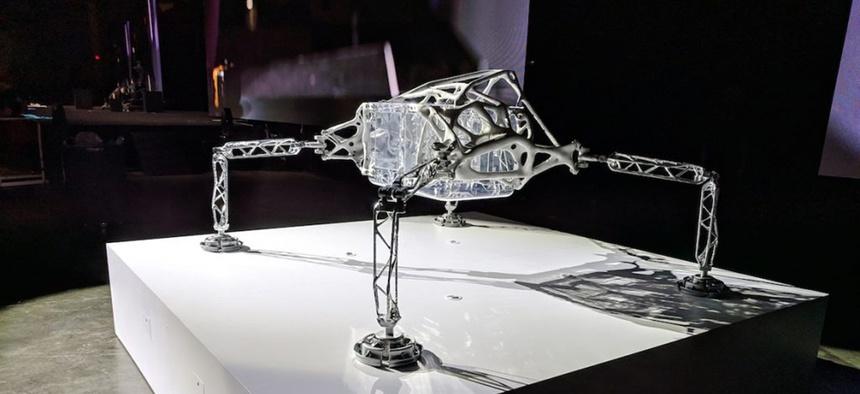 Autodesk's concept lander