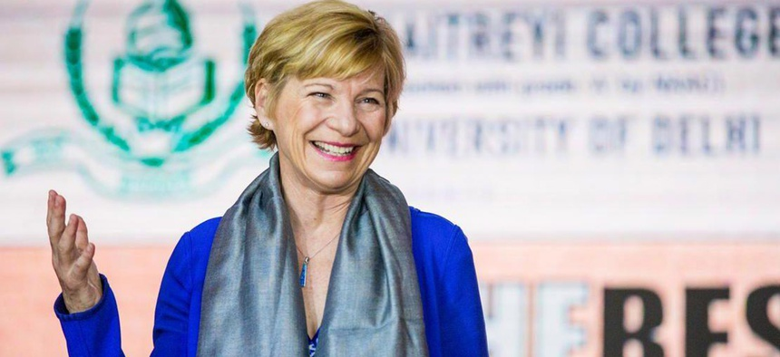Susan Desmond-Hellmann, CEO of the Bill and Melinda Gates Foundation