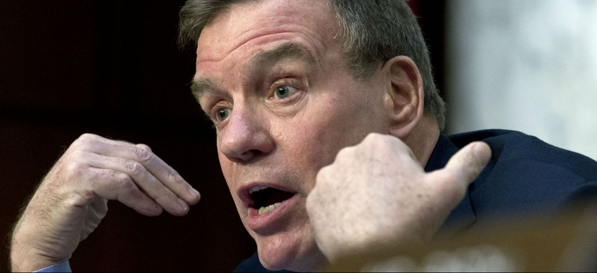 Sen. Mark Warner, D-Va., wants industry input on what a cybersecurity plan would look like for the health care industry.