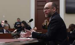 Office of Management and Budget acting Director Russell Vought testifies before the House Budget Committee March 12.