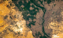 High resolution satellite image of Cairo