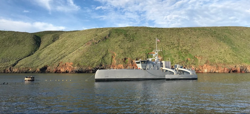 Sea Hunter, an entirely new class of unmanned sea surface vehicle, recently completed an autonomous sail from San Diego to Hawaii and back.