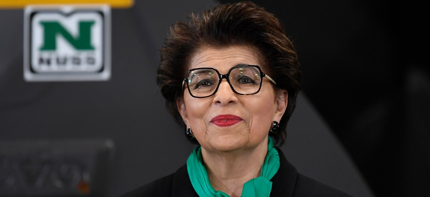 Jovita Carranza is the newly confirmed head of the Small Business Administration.