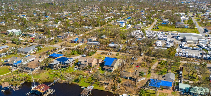 Hurricane Michael devastated parts of Florida in 2018.