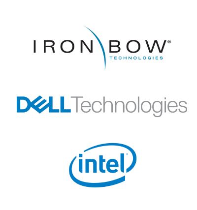 Iron Bow | Dell Technologies | Intel's logo