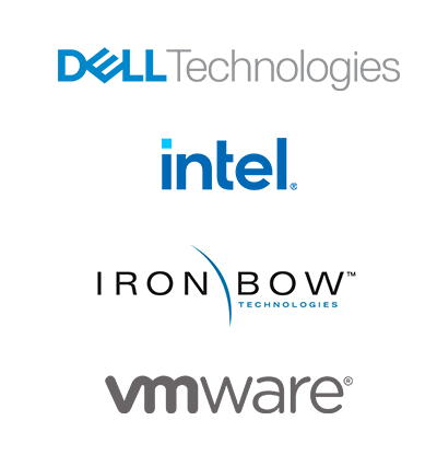 Iron Bow-VMWare-Dell Technologies-Intel's logo