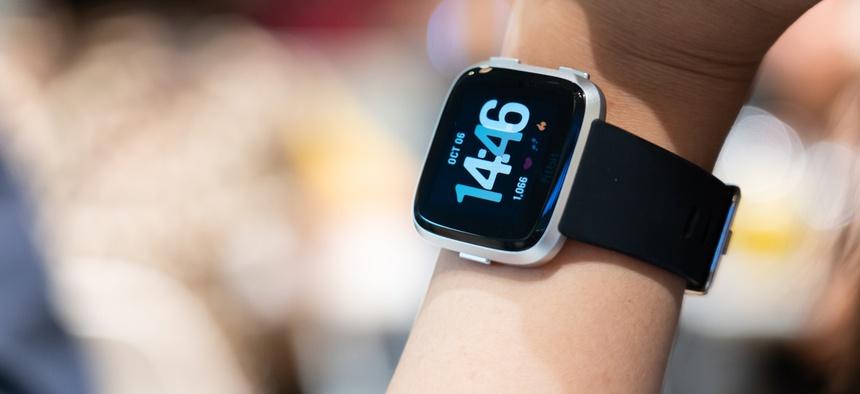 A photo of a smart watch. THANES.OP/SHUTTERSTOCK