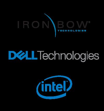 Iron Bow | Dell Technologies | Intel logo