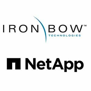 Iron Bow Technologies and NetApp logo