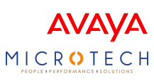 Avaya | Microtech logo