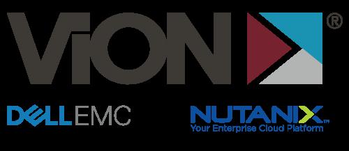 ViON   Dell EMC   Nutanix logo